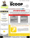 The Scoop, Vol. 7 Issue 2, May 2020 by Health Sciences Library