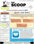 The Scoop, Vol. 7 Issue 8, November 2020 by Health Sciences Library