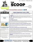 The Scoop, Vol. 7 Issue 11, February 2021 by Health Sciences Library