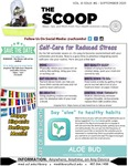 The Scoop, Vol. 8 Issue 6, September 2021 by Health Sciences Library
