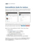 SelectedWorks Guide for Authors by Lee Dotson and Selected Works