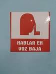 """Speak Softly"" sign, Masonic Headquarters Cuba by Pratyush S. Goberdhan"