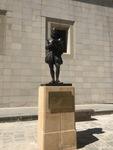 Miguel de Cervantes Statue by Emily E. Irigoyen