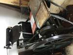 Antique Printing Machine by Daniella E. Sauri