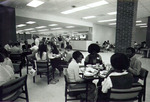 Ferrell Commons cafeteria tables