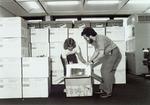 Computer Center II Building - IBM PCs arrive