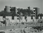 Biological Sciences Building, construction in front of the building by Jon Findell