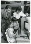 Creative School, kids on computer