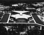 Education Building, aerial view 1977