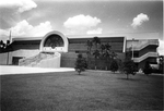 Arena - the facade of the original UCF Arena