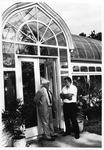 Arboretum - Graduate Dean Dr. Louis Trefonas & Biology Professor Dr. Henry Wittier
