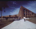 Education Building - students (in color)