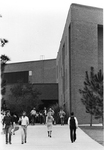 Education Building - students walking to and fro