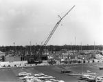 Brevard Lifelong Learning Center construction - crane