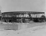 Computer Center I Building - construction of the steel frame