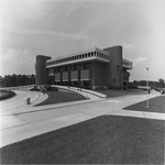 Library after construction - 1967