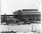 Library - with Millican Hall under construction