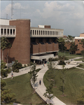 Library - view from the roof of Phillips Hall