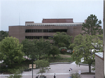 Library - view from second story of the Student Union