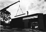 Washington Center construction - roof girder