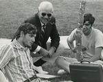 Millican, Charles N. - with students ca. 1970