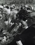 Millican, Frances  - sitting in a crowd