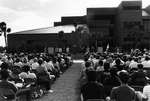 Brevard Lifelong Learning Center dedication ceremony - another view of the stage