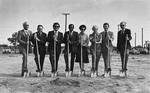 Brevard Lifelong Learning Center - group with ready shovels at groundbreaking