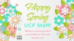 Happy Spring 2021 by Staff Council