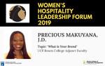 Precious Makuyana-Panelist